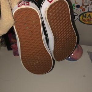 Vans Shoes - Black Slip On Vans